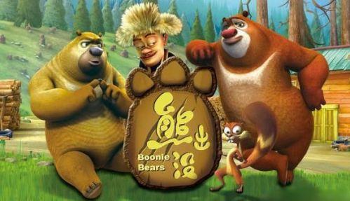 《熊出没》动画片人物造型